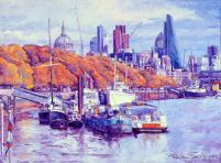 Autumn on Thames River